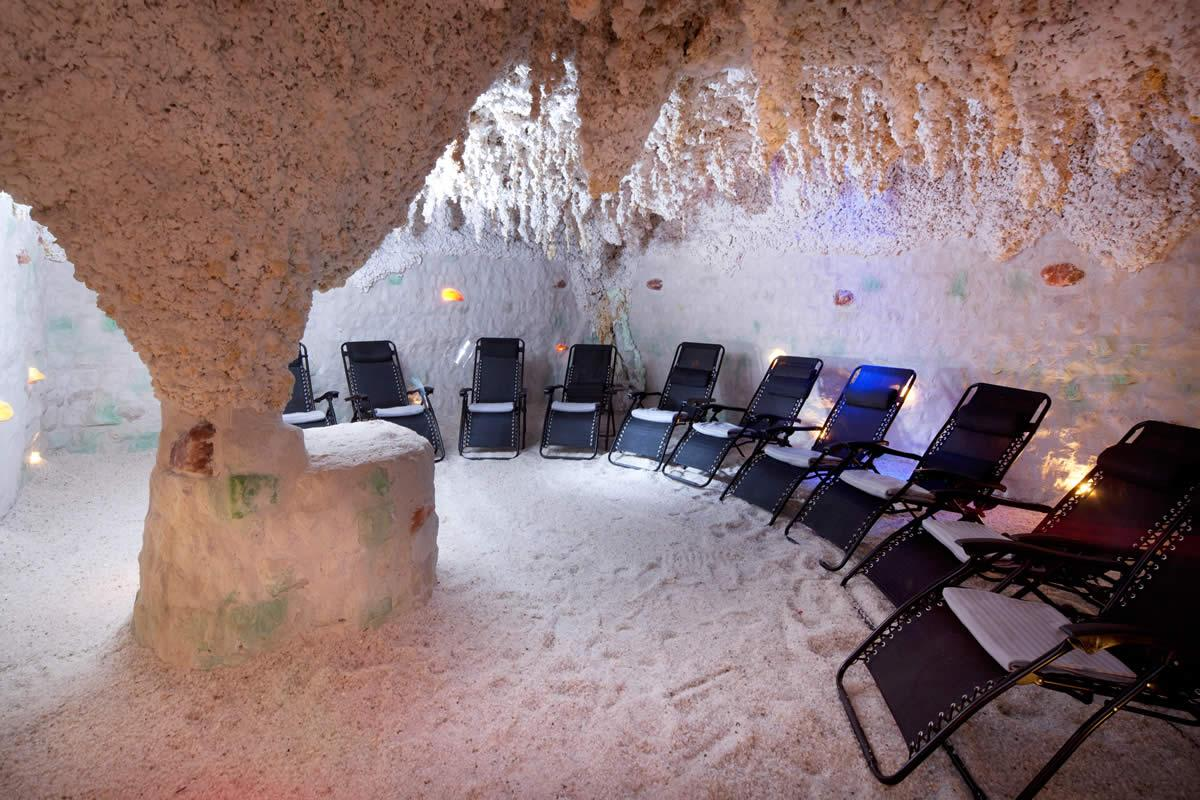 Solná jeskyně ve Wellness Hotelu Frymburk