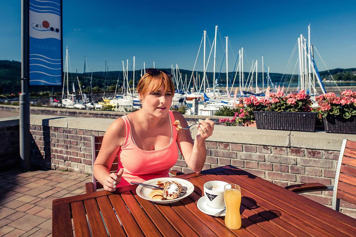 Snídaně Marina Lipno